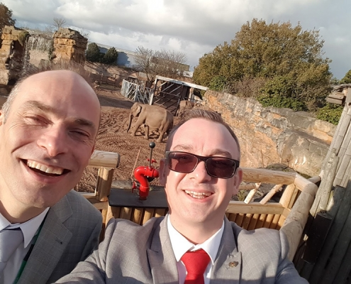 chester-zoo-timpsons-shoes-corporate-day
