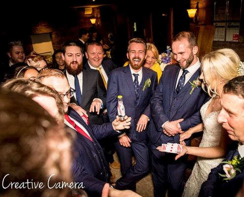 wedding-magician-Salmsbury Hall-lancashire-northwest