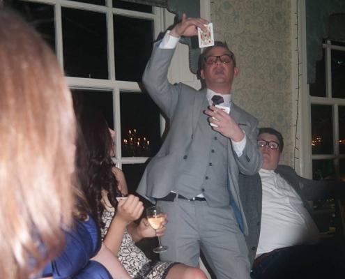 Party-magician-magic-magician in Warrington-balloons