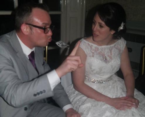 Party-magician-magic-magician in Warrington-balloons-wedding magician