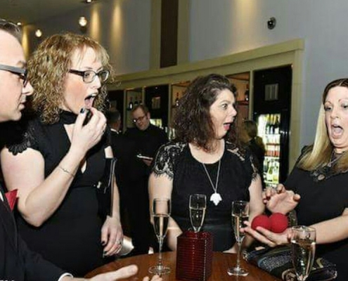 magician in liverpool-Hilton hotel-corporate magic-charity