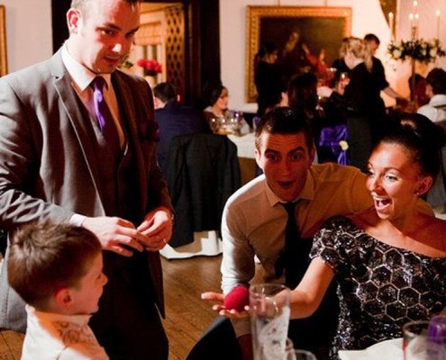 Andrew Dean wedding magician-magician in lancashire